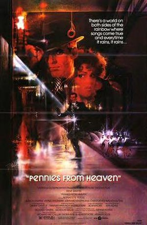 Pennies from Heaven (1981 film) - Theatrical release poster by Bob Peak