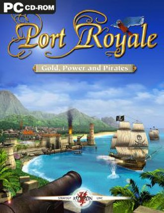 Port Royale: Gold, Power and Pirates - Image: Port Royale cover