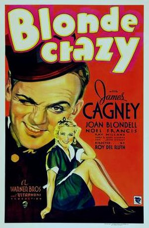 Blonde Crazy - Theatrical poster