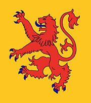Banner of the Kingdom of Powys.