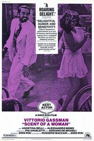 Scent of a Woman (1974 film) - Image: Profumo Di Donna