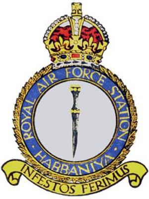 RAF Habbaniya - Station crest