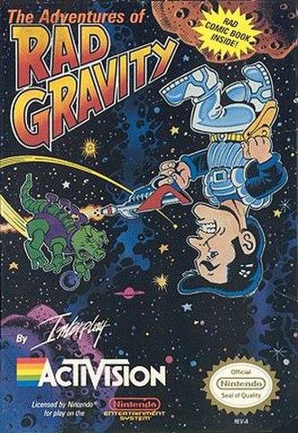 The Adventures of Rad Gravity - Image: Radbox 3