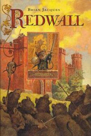 Redwall (novel) - US cover of Redwall