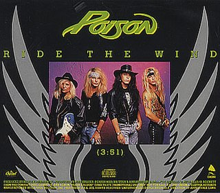 Ride the Wind (song) 1991 single by Poison