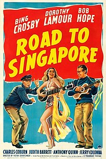 <i>Road to Singapore</i> 1940 film by Victor Schertzinger