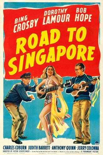 Road to Singapore - Theatrical release poster
