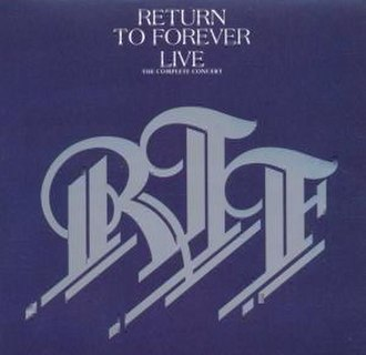 Live (Return to Forever album) - Image: Rtf live front