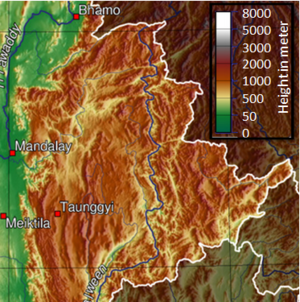 Shan State - Topography of Shan State