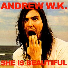 andrew wk she is beautiful