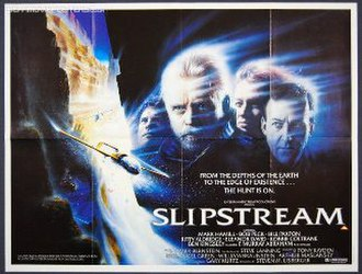 Slipstream (1989 film) - UK Theatrical release cinema poster