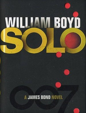 Solo (Boyd novel) - First edition cover