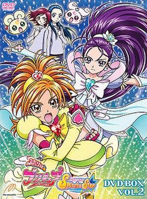 Futari wa Pretty Cure Splash Star - Image: Splash DVD Box 2