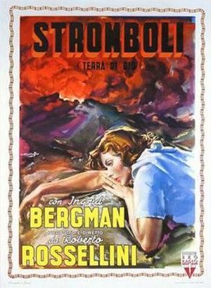Stromboli (film) - Italian theatrical release poster