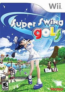 Super Swing Golf box art