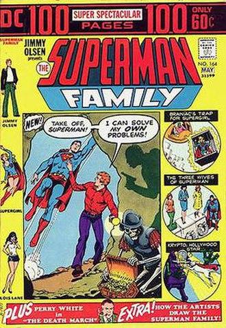 The Superman Family - Image: Superman Family 164