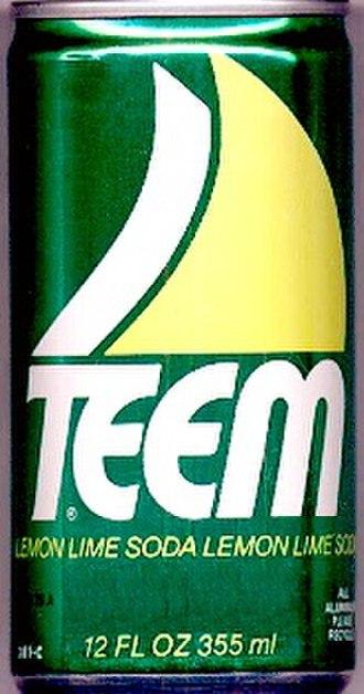 Teem - Image: Teem Soda 1980s