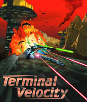 Terminal Velocity (video game) - Image: Terminal Velocity Coverart