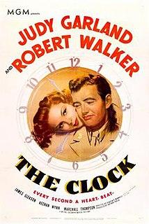 <i>The Clock</i> (1945 film) 1945 film by Vincente Minnelli, Fred Zinnemann