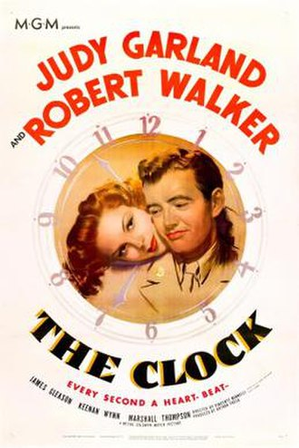 The Clock (1945 film) - theatrical release poster