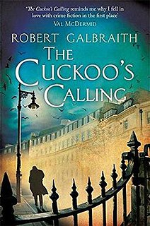 <i>The Cuckoos Calling</i> novel by J. K. Rowling