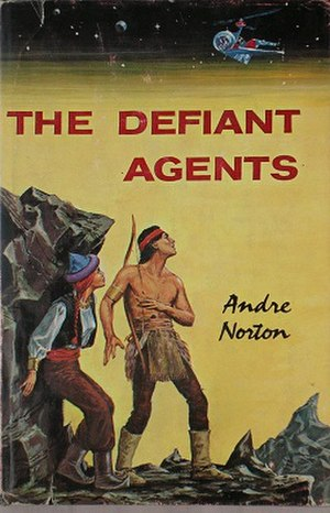 The Defiant Agents - Cover of he first edition.