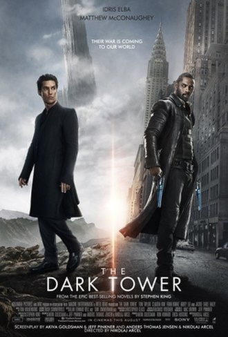 The Dark Tower (2017 film) - Theatrical release poster