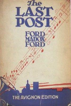 Last Post (novel) - Image: The Last Post (Ford Madox Ford novel)