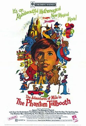 The Phantom Tollbooth (film) - Theatrical release poster