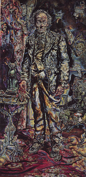 Ivan Albright - The Picture of Dorian Gray by Ivan Albright, 1943, oil on canvas