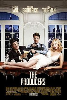 Theatrical movie poster for The Producers