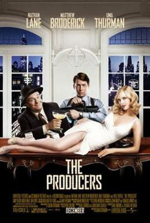 The Producers (2005 film) - North American theatrical release poster