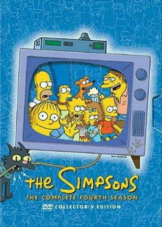 The Simpsons (season 4) - DVD cover