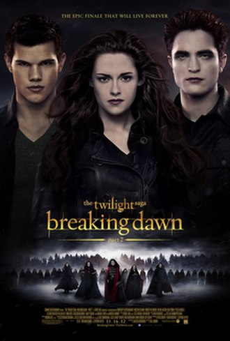 The Twilight Saga: Breaking Dawn – Part 2 - Theatrical release poster