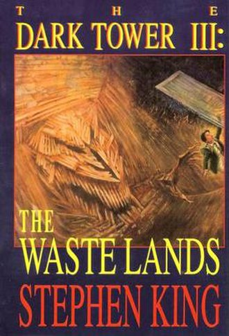 The Dark Tower III: The Waste Lands - First edition cover