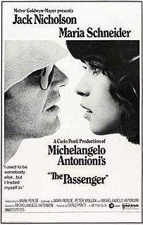 <i>The Passenger</i> (1975 film) 1975 Italian film directed by Michelangelo Antonioni