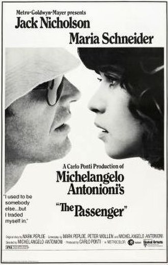 The Passenger (1975 film) - US theatrical poster