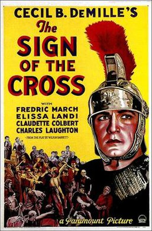 The Sign of the Cross (1932 film) - Theatrical release poster