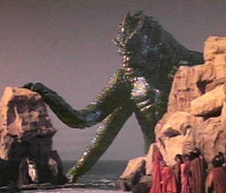 Clash of the Titans (1981 film) - The Kraken comes to claim Andromeda.