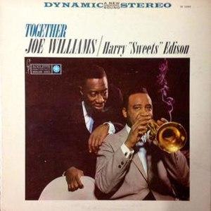 Together (Joe Williams and Harry Edison album) - Image: Together (Joe Williams and Harry Edison album)