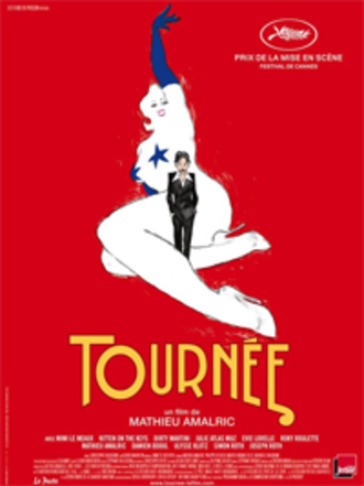 On Tour (2010 film) - Theatrical release poster by Christophe Blain