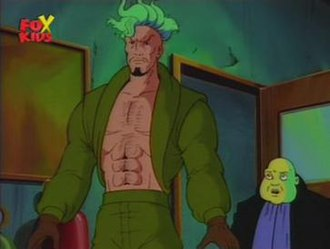 Trevor Fitzroy - Trever Fitzroy and Bantam from X-Men Animated Series