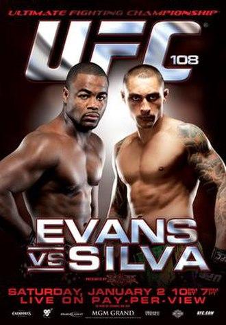 UFC 108 - Image: Ufc 108 poster
