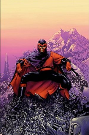 Alternative versions of Magneto - Magneto on the cover of Ultimate X-Men