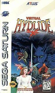 <i>Virtual Hydlide</i> 1995 video game