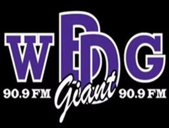 WBDG - Image: WBDG Giant 90.9FM logo