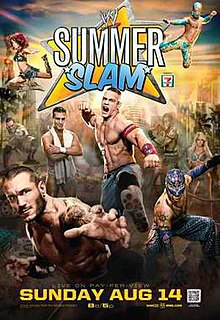 SummerSlam (2011) 2011 WWE pay-per-view event