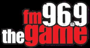 WYGM - Image: WYGM fm 96.9thegame logo