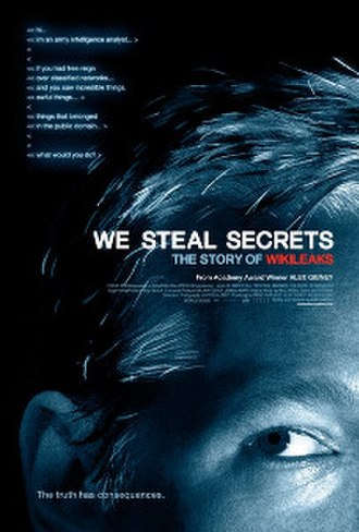 We Steal Secrets: The Story of WikiLeaks - Theatrical release poster