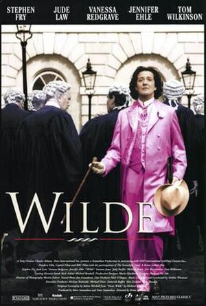 Wilde (film) - Theatrical release poster